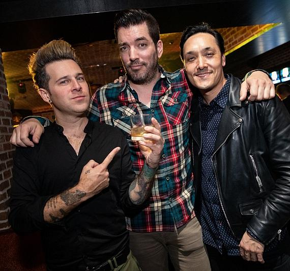Ryan Cabrera, Jonathan Scott and Mark Houston at On The Record