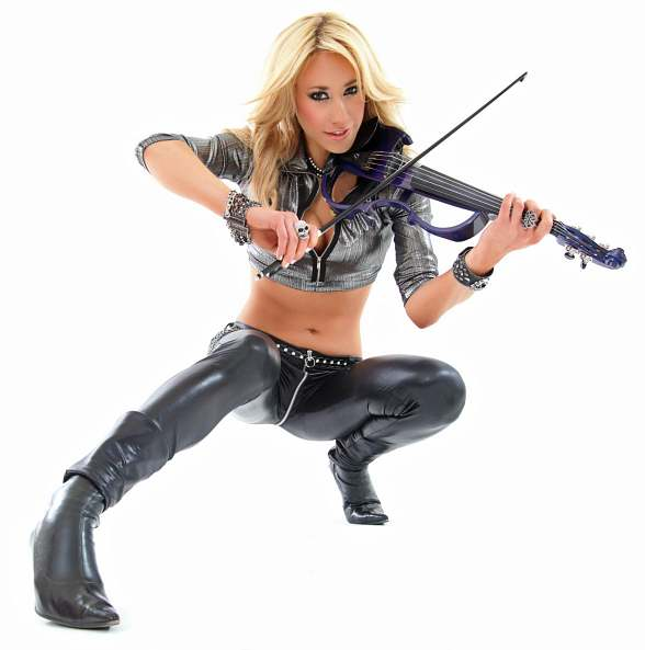 Electric Violinist Lydia Ansel to Perform at Rockhouse Monday, Oct. 5