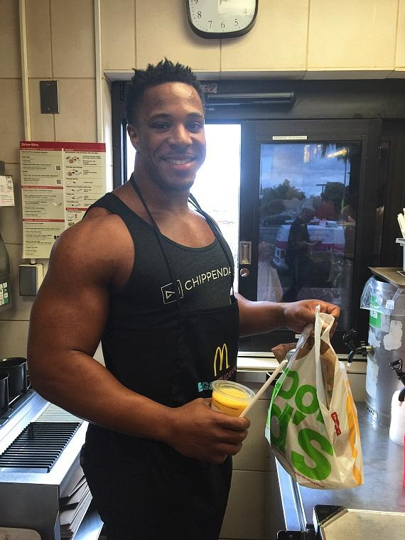 Chippendales at McDonald's