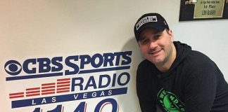 """Mike Hammer and Brian Shapiro of """"The Vegas Take"""" on CBS Radio welcome Sports Handicapper Tom Barton on Saturday, February 25"""