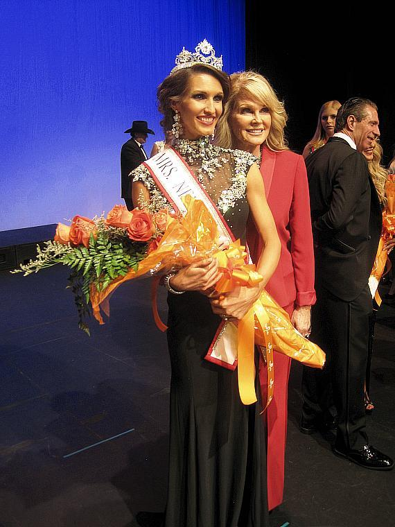 Jennifer Winn Snowden wins Mrs. Nevada-America Pageant in Las Vegas