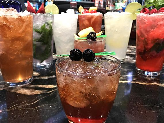 Golden Circle offers specialty drinks such as The Golden Margarita, Mule Kick and Jersey Chaser Mojito