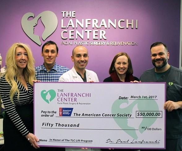 The Lanfranchi Center Donates $50,000 to Launch the