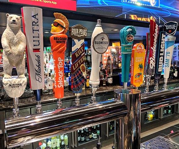 Golden Circle features 20 beers on tap plus a full bar