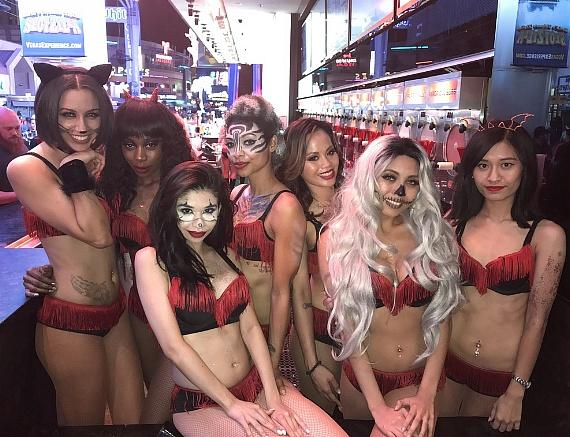 Flashback Friday to Halloween Night on Fremont Street Experience