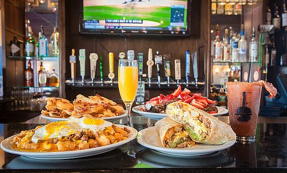 Slater's 50/50 Las Vegas Launches Wake N' Bacon Brunch with Bottomless Mimosas