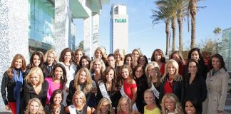Miss America Contestants Enjoy Brunch at Simon at Palms Place