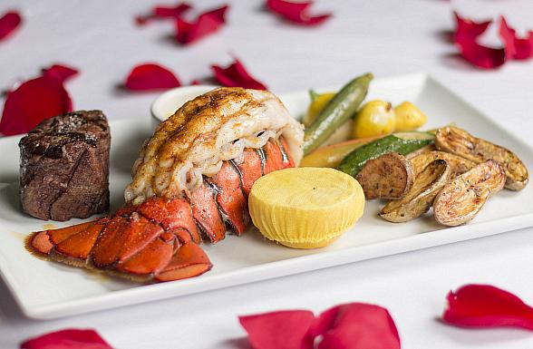 Valentine's Day at Oscar's Steakhouse in Las Vegas