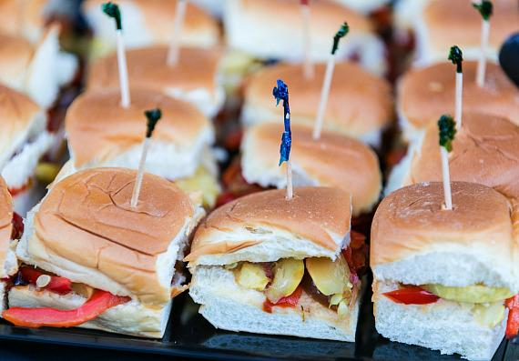 Sliders at Life Time Athletic