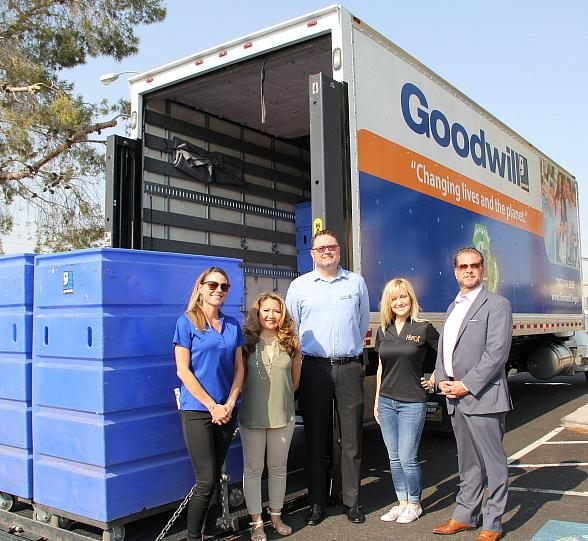 Nonprofits Helping Nonprofits! Goodwill Delivers Large Donation to Nevada SPCA
