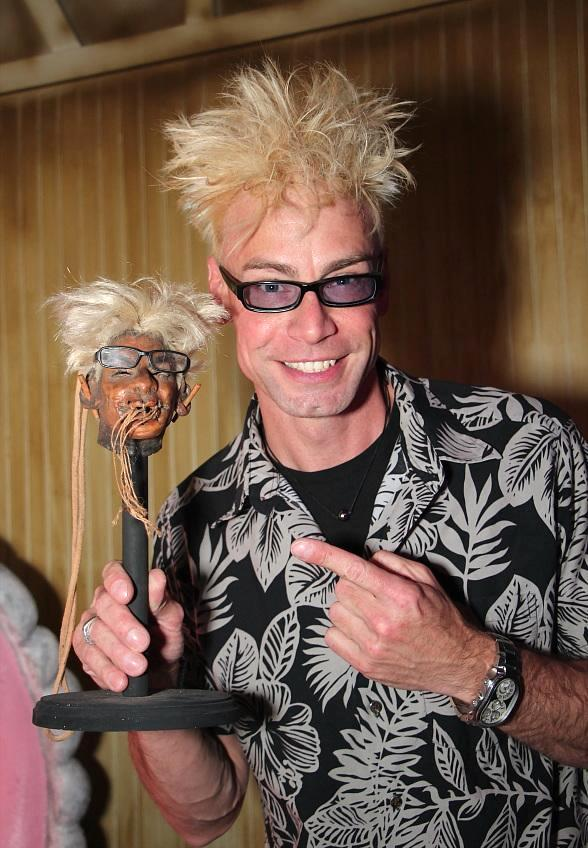 Celebrity Magician Murray Sawchuck Unveils Shrunken Head at The Golden Tiki in Las Vegas