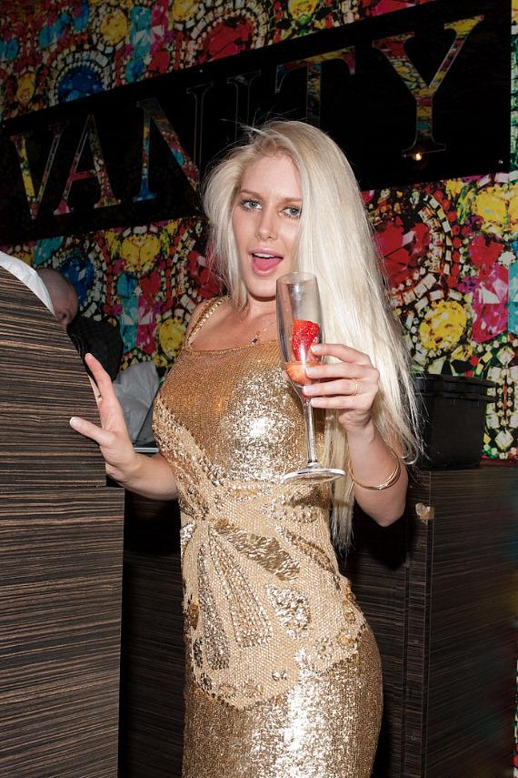 Heidi Montag at Vanity Nightclub in Hard Rock Hotel