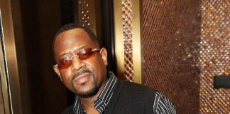 Martin Lawrence at Nove Italiano inside the fantasy tower at the Palms Casino Resort