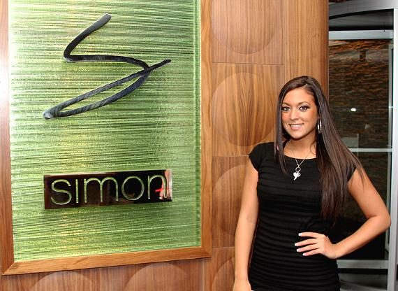 """Jersey Shore's Sammi """"Sweetheart"""" Giancola at Simon's Place"""