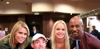"""Raising the Stakes"" Celebrity Poker Tournament with Cheryl Hines and Montel Williams"