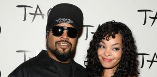 Ice Cube & Wife Kimberly Woodruff at TAO Red Carpet