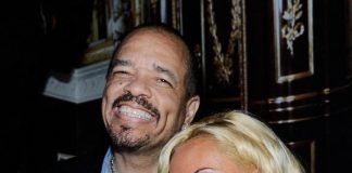 Ice-T and Coco at Gallery Nightclub at Planet Hollywood Resort & Casino in Las Vegas