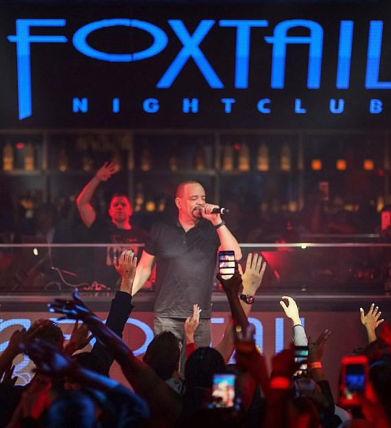 Ice-T performs at Foxtail