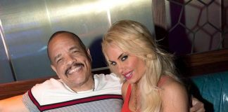 "Ice-T and Nicole ""Coco"" Austin Party at Ling Ling Club in Hakkasan Nightclub"