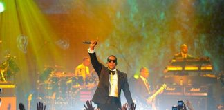 JAY-Z performs at The Cosmopolitan of Las Vegas New Year's Eve and Grand Opening Celebration