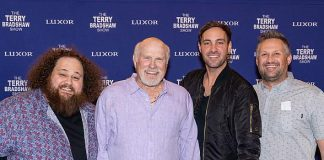 "Jeff Dye and JC Currais Attend ""The Terry Bradshaw Show"""