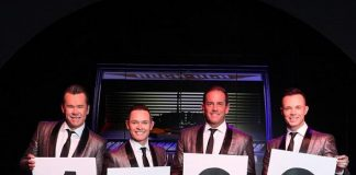 Australia's Pop Vocal Group Human Nature Celebrates Milestone with 1,500 Performances as Resident Headliners in Las Vegas