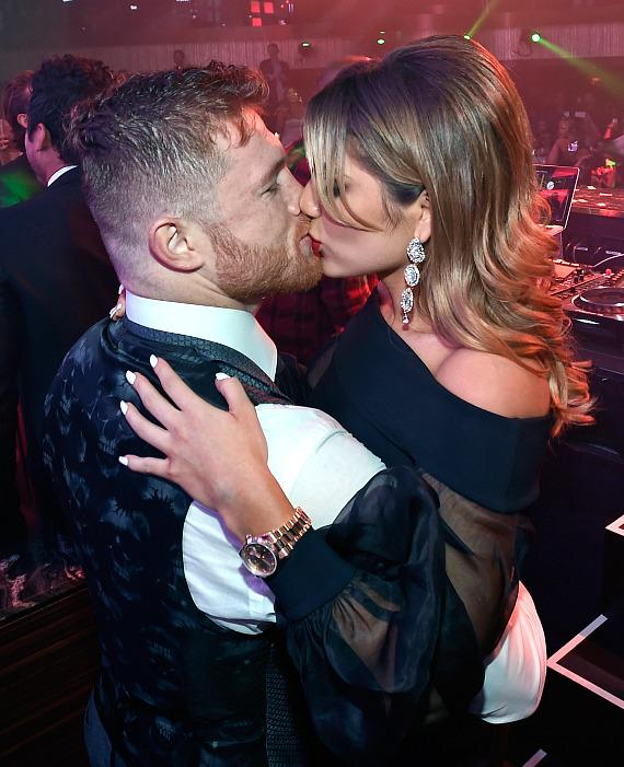 Canelo Alvarez Celebrates Victory at Official After-Fight Party Inside JEWEL Nightclub