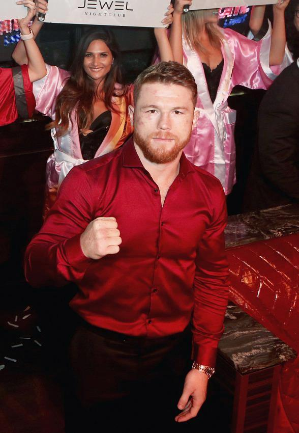 Canelo Alvarez Hosts the Official After-Fight Party at JEWEL Nightclub in Las Vegas