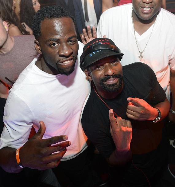 Draymond Green and DJ Irie at JEWEL