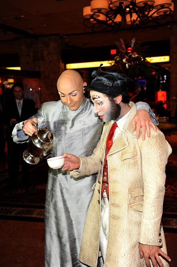 Cirque Du Soleil Takes Over The Mirage