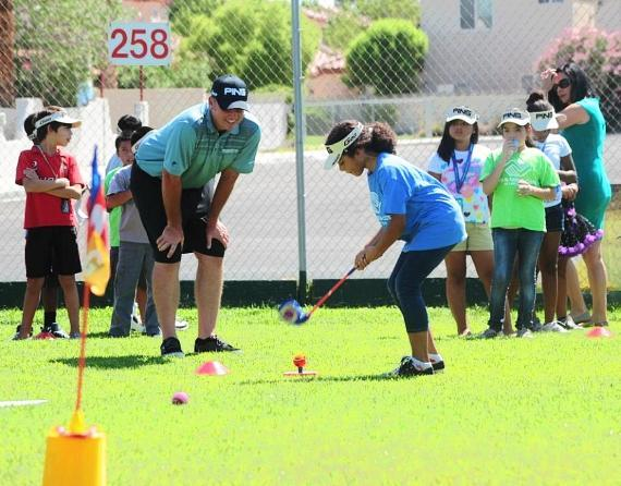 JT Shriners Golf Clinic