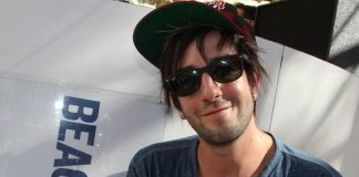 Jack Barakat with water bottle