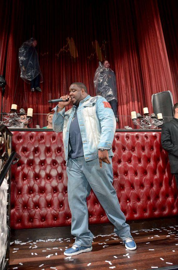 Jamal Woolard performs at LAX Nightclub