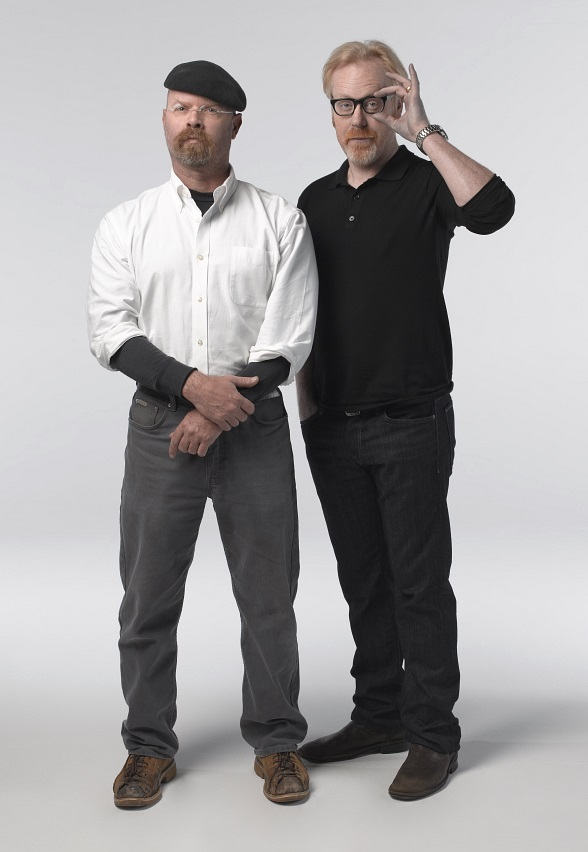 Jamie Hyneman and Adam Savage