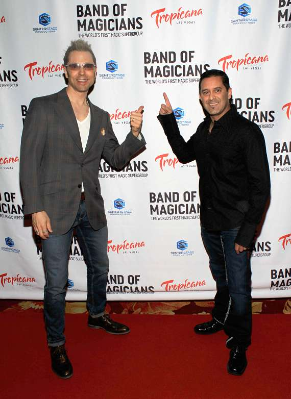 """""""Band of Magicians"""" Dazzles with VIP Red Carpet Premiere at Tropicana Las Vegas"""