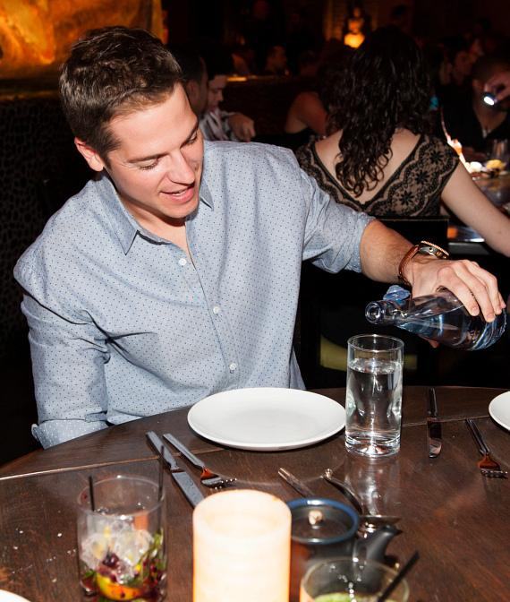 Jason Kennedy Helps Kick Off TAO Group's Commitment to WHOLE WORLD Water