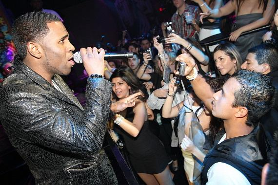 Jason Derulo at Vanity in Hard Rock Hotel Las Vegas