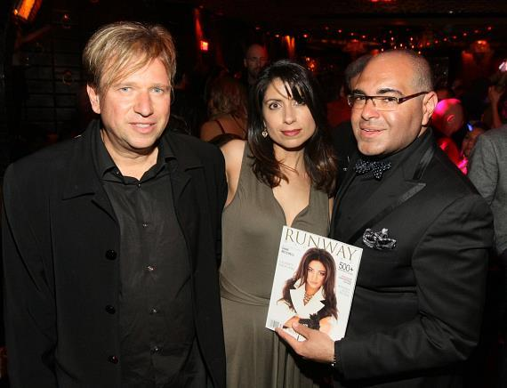 Jay Falz, Diane Wallace and Nole Marin at LAVO