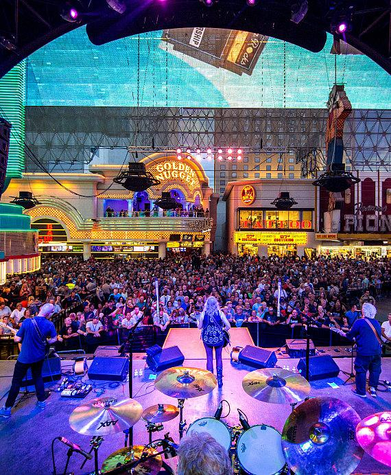 Jefferson Starship and Eddie Money Take over Fremont Street Experience During Downtown Rocks