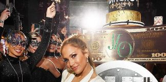 Jennifer Lopez and Wolfgang Puck Shine at Spago After Party Following Billboard Music Awards