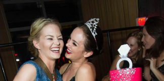 Jennifer Morrison at LAVO Bachelorette Party