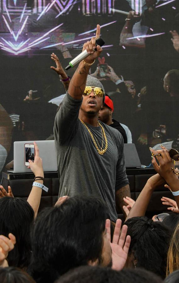 Jeremih hosts at Marquee Dayclub Dome in Las Vegas