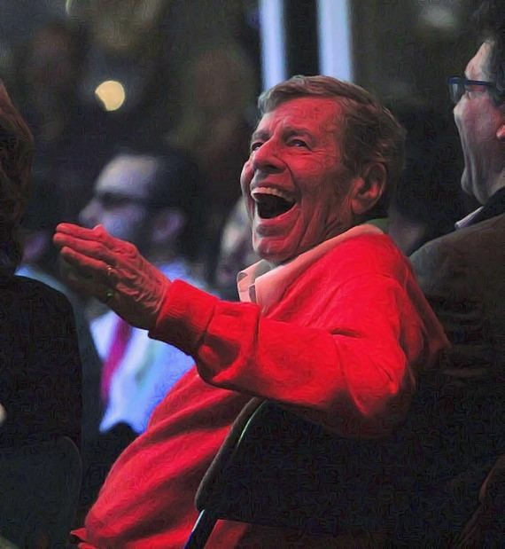 Jerry Lewis attends Absinthe and Caesars Palace in Las Vegas