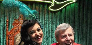 """Jerry Lewis Attends """"Absinthe"""" at Caesars Palace in Las Vegas"""