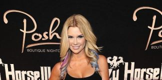Jessa Hinton on red carpet at Crazy Horse III