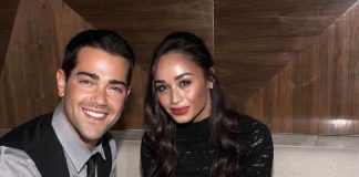 Jesse Metcalfe and Cara Santana at Vanity Nightclub in Las Vegas