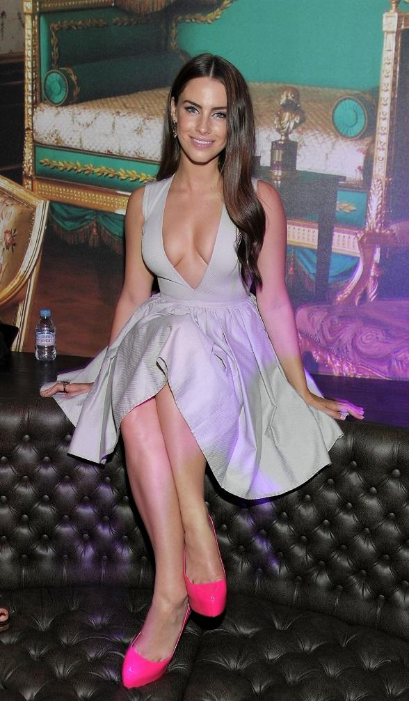Jessica Lowndes Enjoys a Night at Gallery Nightclub in Las Vegas