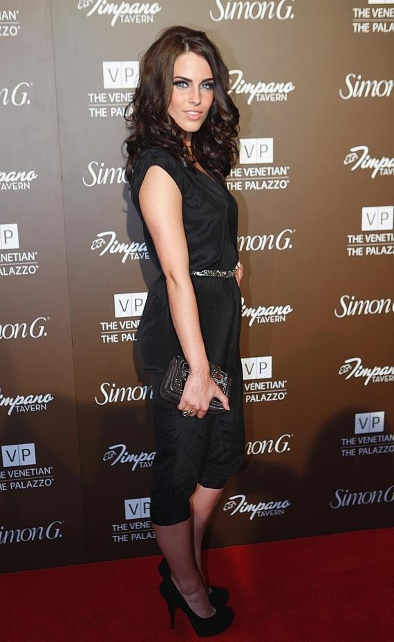 Jessica Lowndes on red carpet