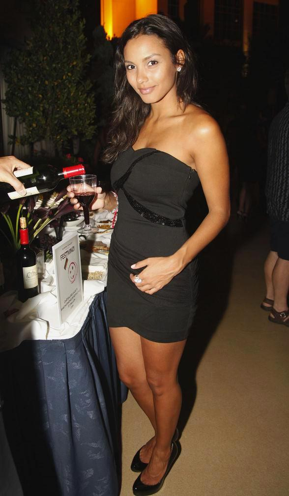 Jessica Lucas celebrates 25th birthday at The Palazzo