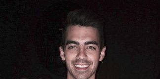 Joe Jonas Celebrates 25th Birthday with His Brothers at CRUSH Eat, Drink, Love at MGM Grand in Las Vegas